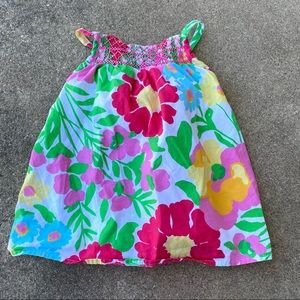 Lilly Pulitzer Ants On Parade Floral Dress 6-12M